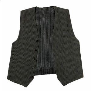 Issey Miyake Pleated Vest